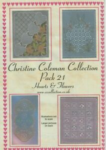 CHRISTINE COLEMAN COLLECTION PATTERN PACK 21: HEARTS & FLOWERS