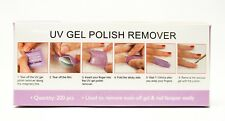 Polish/Gel Nail Acetone Removal Wrap Remover Pad Ready to Use LAVENDER 200ct/pk