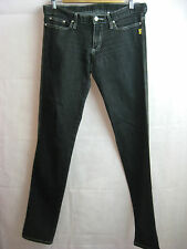 Bettina Liano Size 29 or 10 Black Casual Skinny Leg Jean