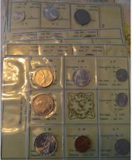 NL*ITALIA DIVISIONALE anno 1969 CON 500 Lire ARGENTO CARAVELLE FDC Set zecca