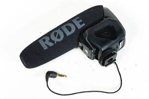 Rode Video Mic Pro on camera mic