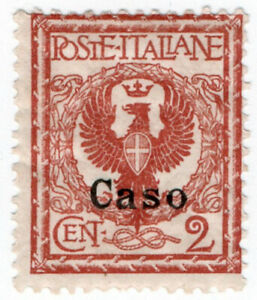 (I.B) Italy Postal : Italian Occupation of Caso 2c