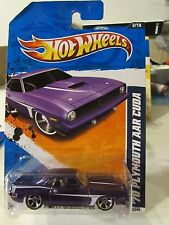 Hot Wheels '70 Plymouth AAR Cuda Street Beasts Purple