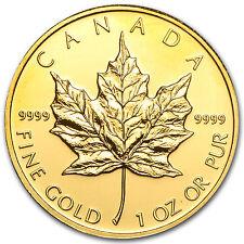 2010 Canada 1 oz Gold Maple Leaf BU - SKU #56410