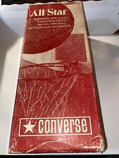 """Vintage 1970s Converse Shoe """"Box Only� for All Star Blue Ox"""