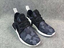 Adidas Nmd Xr1 Pato Camuflaje Negro Talla 8 (versión En Negro Solamente)