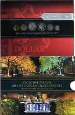 Australien 2014 Six Coin Uncirculated Exclusive World Money Fair Berlin  M_501