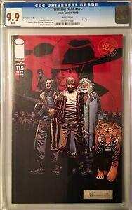 Walking Dead #115 Cover K CGC 9.9 Rick Jesus Negan ALL OUR WAR MINT RARE Not 9.8