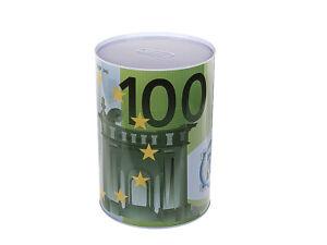 XXXL Blech Spardose 100 Euro Metall Sparbüchse Geld Kasse Sparschwein groß XXL