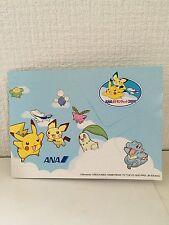 Rere ! Pokemon jet  Flying Pichu & Pikachu ANA  nintendo Badge 2000 Promo Japan