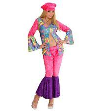 Widmann 35423 Costume Hippie figlia dei Fiori L velluto