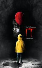 ORIGINAL Stephen King's IT movie DS 27x40 POSTER 2017 Bill Skarsgard The Clown