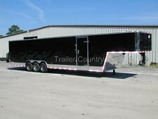 NEW 8.5 x 40 8.5x40 Enclosed Gooseneck Cargo Carhauler Race Trailer
