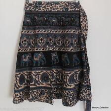 Knee-Length Handmade Hand-wash Only Skirts for Women