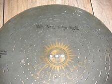 """Stille Nacht heilige Nacht Amorette Platte 30,5cm Orgel music box 11 3/4"""" disc"""