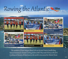 Antigua & Barbuda 2019 MNH Island Girls Definitives Rowing 6v M/S Sports Stamps