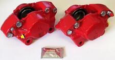 Ford Escort MK2 NUEVO Rojo Pinzas de freno tipo 16 devolución del dinero NUEVO