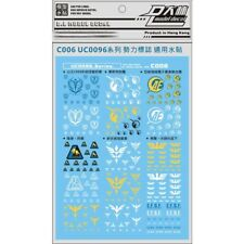 US Seller D.L UC0096 PG MG RG HG Caution Waterslide Decal for Gundam Gunpla