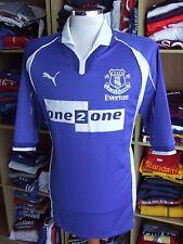 Trikot Everton FC 2000/02 (XL) Heimtrikot Puma Jersey Shirt Maglia Maillot
