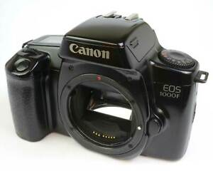 Canon EOS 1000F 35mm SLR film camera body only - good condition and working