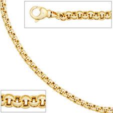 ERBSCOLLIER 585 Gold Gelbgold 45 Cm Karabinerverschluss Collier