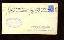 "Ship Cover ""Rms Andes"" 1948 with Buenos Aires, Argentina roller cancels on Gb"