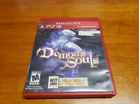 Demon's Souls (Sony PlayStation 3, 2009) PS3 CIB Complete TESTED