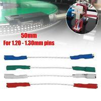 4Pcs OFC 7N Headshell Kabel Set Silber führt Phono Cartridge-Kabel ♥ Neu