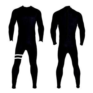 New XXL 5/4/3 Black Back Zipper Wetsuit Neoprene Full Body Back Zip Surf Scuba