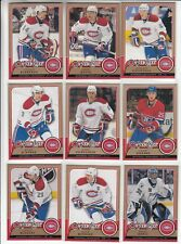 08/09 OPC Montreal Canadiens 12 card lot incl: RC and Inserts - Gorges +
