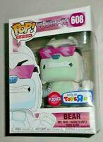 Funko Pop Teen Titans Go #608 Bear Flocked Toys R Us Exclusive New!