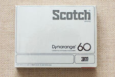 SCOTCH DYNARANGE 60. C-Box SEALED BLANK AUDIO CASSETTE TAPE. NEW RARE 1977