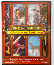 Staying Alive:Body in Balance- Royal Institution Christmas Lecture-VHS plus book