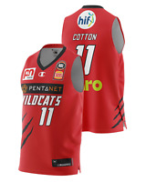Perth Wildcats 20/21 Authentic Home Jersey - Bryce Cotton, NBL Basketball