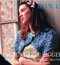 Big Just Got Bigger - Rowan Knitting Pattern Book - 30 Designs for Men & Women