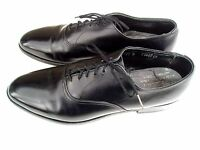 Vintage Wright Whippet II 11B Black Dress Oxfords Crafted In United States Shoes