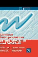 (Good)-Clinical Interpretation of the WAIS-III and WMS-III (Practical Resources