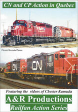 Canadian National and Canadian Pacific in Quebec CN, CP A&R Productions DVD
