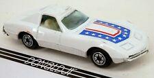 Yatming #1002 1968/69 Chevrolet Corvette Racer White 1/64 Scale (Metal Base)