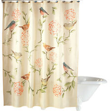Birds And Blooms Floral Shower Curtain, by Collections Etc
