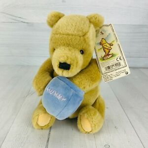 Gund Disney Classic Pooh Bear With Honey Pot Plush Retired Toy With Ear Tags