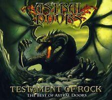 Astral Doors - Testament of Rock: The Best of [New CD]