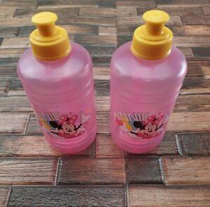 Disney Minnie Mouse Kid Cup 2pk Pink Girls BPA-FREE Water Bottles Drink Cups