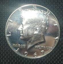 "1967 SMS SILVER PROOF-LIKE GEM KENNEDY HALF DOLLAR ""VERY RARE IN THIS CONDITION"""