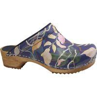 Sanita Wood Persilla Women Clogs | Slippers | garden shoes | Imitation leather -