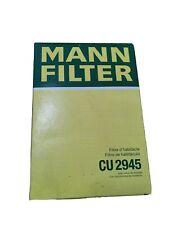 Mann CU2945 Cabin Filter Element renault clio 2 II