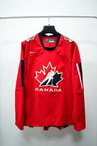 Canada Olompic Ice Hockey Team 2005-2007 Jersey Nike Shirt