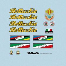 Bottecchia Bicycle Decals, Transfers, Stickers Yellow/Black n.870
