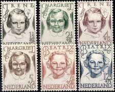 Mint Hinged Royalty Dutch & Colonies Stamps