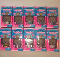"Jiffpom CUTELIFE Complete Set of 10 3"" Pomeranian Dog Poseable Figures Lot AB3"